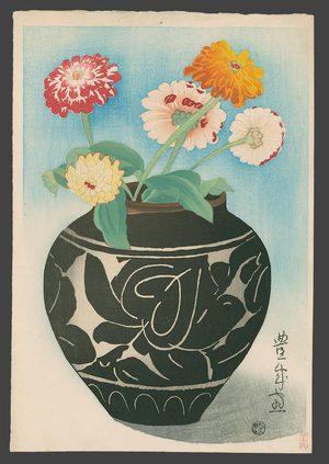 Toyonari: A Jar of Dahlias - The Art of Japan