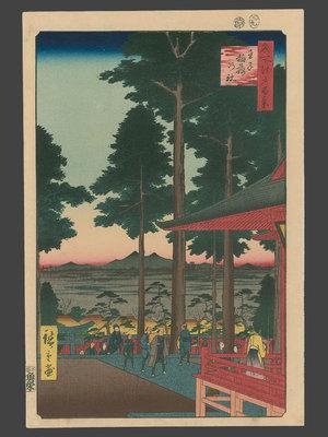 歌川広重: #18 Oji Inari Shrine - The Art of Japan