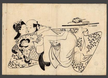 菱川師房: Lovers - The Art of Japan