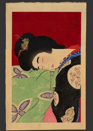 鳥居言人: Nap 52/100 - The Art of Japan