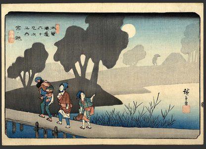歌川広重: Miyanoshita - The Art of Japan