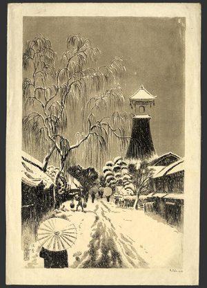 織田一磨: Sumiyoshi in Snow - The Art of Japan
