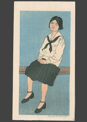 Elizabeth Keith: School Girl - The Art of Japan