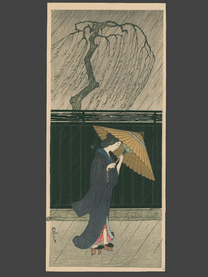 Fritz Capelari: Woman in the Rain - The Art of Japan
