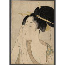喜多川歌麿: Ha.... Of the southern station - The Art of Japan