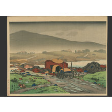 Hashiguchi Goyo: Rain at Yabakai - The Art of Japan