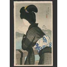 伊東深水: Evening cool 95/150 - The Art of Japan