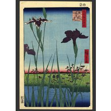Utagawa Hiroshige: Horikiri Iris Garden - The Art of Japan