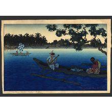 Elizabeth Keith: Moro vintas, Jolo Sulu - The Art of Japan
