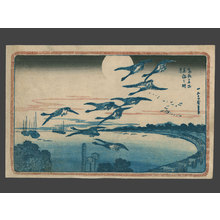 Utagawa Hiroshige: Full Moon at Takanawa - The Art of Japan