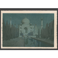 無款: Taj Mahal - night - The Art of Japan
