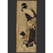 喜多川歌麿: Mother and child - The Art of Japan