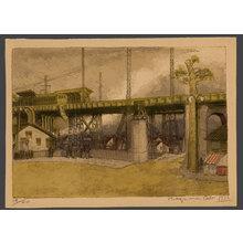 織田一磨: Gotanro - A suburban elevated train station 19/20 - The Art of Japan