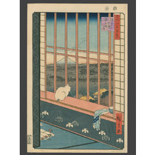 Utagawa Hiroshige: Celebration of the Tori no Machi Festival in the Ricefields Near Asakusa - The Art of Japan