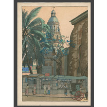 Elizabeth Keith: Old Church - Manila - The Art of Japan