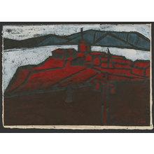 Ono Tadashige: Promontory above a European city - The Art of Japan