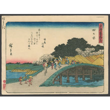歌川広重: #44 Yokkaichi - The Art of Japan
