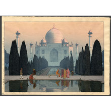 無款: Morning mist at the Taj Mahal No. 5 - The Art of Japan