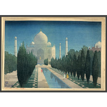 Charles Bartlett: Taj Mahal by Moonlight - The Art of Japan