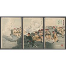 Migita Toshihide: The First Land Battle of the Russo-Japanese War - The Art of Japan