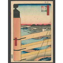 Utagawa Hiroshige: Nihonbashi and Edobashi - The Art of Japan