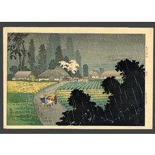 Takahashi Hiroaki: Rain at Magome - The Art of Japan