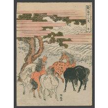 Isoda Koryusai: Uma (Horse) - The Art of Japan
