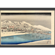 Hashiguchi Goyo: Sanjo Bridge, Kyoto - The Art of Japan