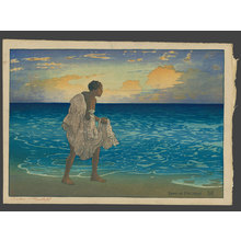 Charles Bartlett: Hawaiian Fisherman, John Hano-Hano Pa - The Art of Japan