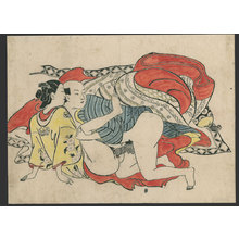 Okumura Masanobu: #7 of 11 Lovers (To be sold as a set) - The Art of Japan