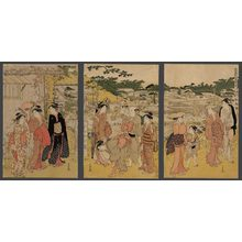 Katsukawa Shuncho: Bringing in a rich harvest in Autumn - The Art of Japan