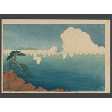 Fritz Capelari: Sailboats at Matsushima - The Art of Japan