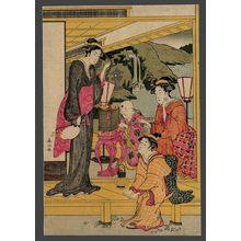 Katsukawa Shunzan: Firefly hunt - The Art of Japan
