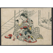 Okumura Masanobu: #2 of 11 Abuna-e (To be sold as a set) - The Art of Japan