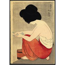 Ito Shinsui: After the bath - The Art of Japan