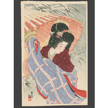 Ito Shinsui: Snowstorm - The Art of Japan