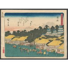 歌川広重: #29 Hamamatsu - The Art of Japan