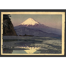 Unknown: Mt Fuji from Okitsu - The Art of Japan
