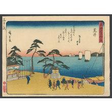 歌川広重: #32 Arai - The Art of Japan