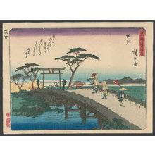 歌川広重: #27 Kakegawa - The Art of Japan
