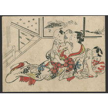 Okumura Masanobu: #3 of 11 Abuna-e (To be sold as a set) - The Art of Japan