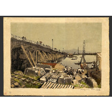 Oda Kazuma: The New Bridge at Niigata - Banzai 18/30 - The Art of Japan