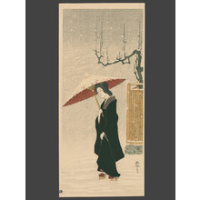 Fritz Capelari: Woman in the Snow - The Art of Japan