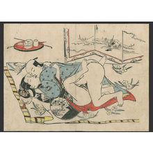 Okumura Masanobu: #6 of 11 Lovers (To be sold as a set) - The Art of Japan