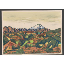 橋本興家: Mountain Landscape - Mt. Fuji - The Art of Japan
