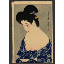 Ito Shinsui: New Cotton Kimono 108/150 - The Art of Japan