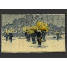 Bertha Lum: Winter - The Art of Japan