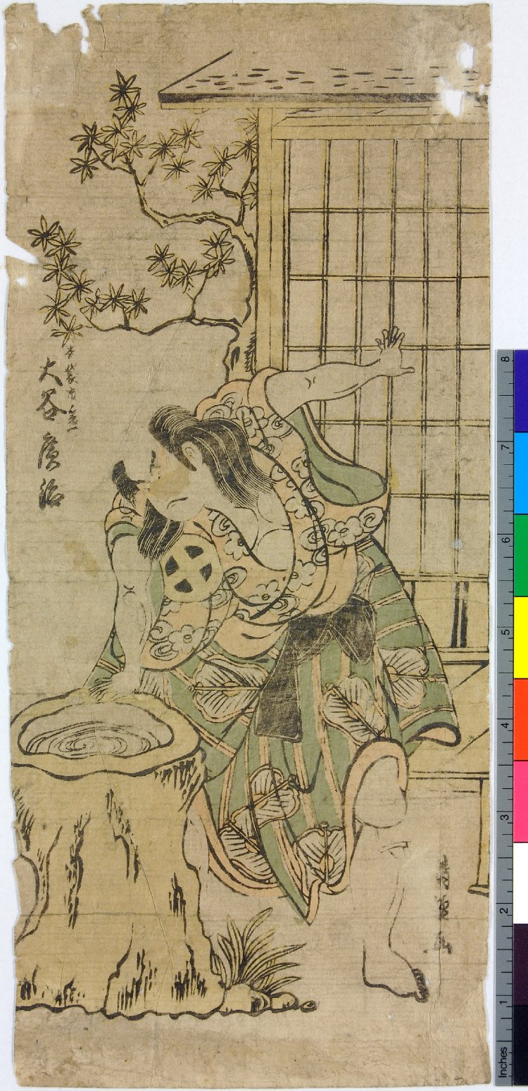 鳥居清倍: - 大英博物館  絵師: 鳥居清倍 年月日: 1706-1763 (artist)