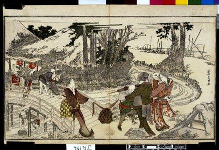 Hosoda Eishi: Otoko doka 男踏歌 (Men's Stamping Dance) - British Museum