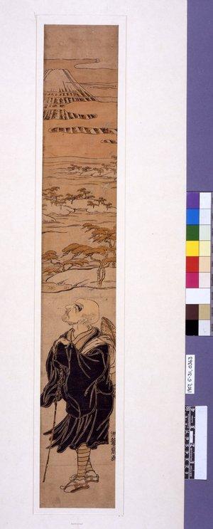 Isoda Koryusai: print / hashira-e - British Museum